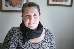 Jessica Eklund arbetar med att hjälpa våldsutövare att bryta mönster och lämna våldet bakom sig.