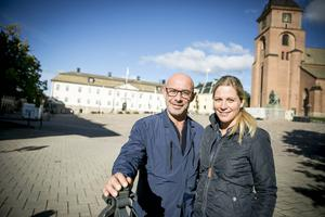 Den internationella matmarknaden är tillbaka i Falun. Något som managern Francois-Xavier Mauraisin och centrumledaren Patricia Wallin Granhagen är nöjda med.