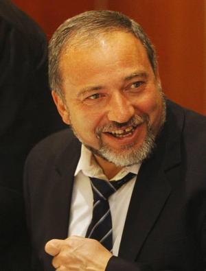 Avigdor Lieberman vars högerparti Yisrael Beitenu nu är det tredje största.