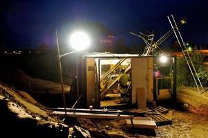 Claes Söderberg/arkivbild. Borrning kan bli en av metoderna för att undersöka om det finns guld eller andra mineraler i berggrunden. Bilden togs vid ett annat tillfälle när det borrades efter guld i Falun.