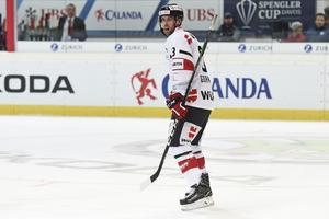 NHL-meriterade backen Brandon Gormley är klar för spel med Mora.
