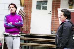 Sandra Hägglöf har själv varit elev på Ytteråns skola. Nu vill hon att byskolan läggs ned.