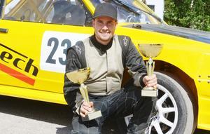 Peter Rosell vann i Haninge och håller nu andraplats i svealandscupens tabell.
