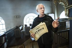Ett speciellt förhållande. Alla organister har något att säga om Bach, säger Rolf Ericzon.