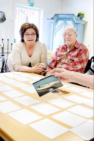 Diana Lindgren leder Memoryspelandet.