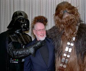 """STAR WARS. Darth Vader och Chewbacca – två karaktärer i George Lucas stilbildande franchise """"Star wars""""."""
