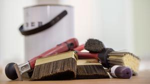Rätt utrustning gör själva målandet lättare.