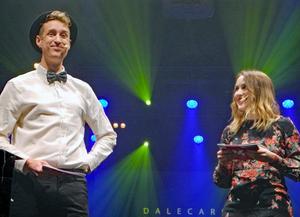 Martin Eriksson och Emma Hulander ledde årets Dalecarlia Music Awards.