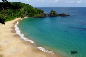 Världens fjärde bästa strand ligger i Brasilien.