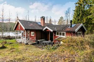 Fritidshus i sjönära läge i Dådran. Foto: SkandiaMäklarna Falun