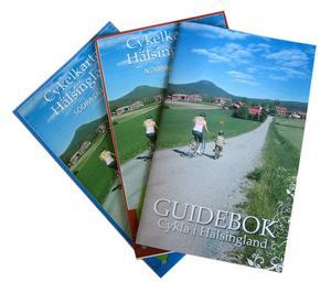 Cykelkartan hjälper dig att hitta rätt bland småvägarna i Hälsingland.