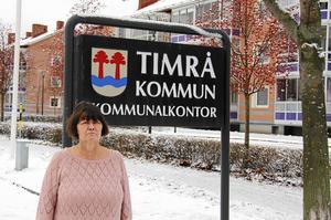 Ingeborg Melin, chef för socialförvaltningen i Timrå slutar som förvaltningschef efter fem år. Orsaken är en av åtgärderna för att minska det stora budgetunderskottet i förvaltningen.