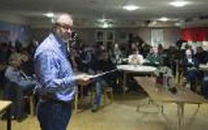 I slutet av november förra året hölls ett informationsmöte gällande boende på Bergeforsens skola då var bland annat socialnämndens ordförande Per-Arne Frisk med.