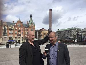 Gert Wingårdhs och Nicklas Nybergs förslag på en skyskrapa på Stora torget väcker starka känslor.