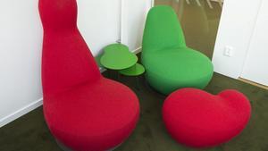 """Den miljömärkta stolen """"Oppo"""", som betyder kompis på brittisk slang, är formgiven av Stefan Borselius."""