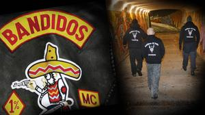 Medlemmar från Bandidos ska ha konfronterats med medlemmar ur Soldiers of Odin i Borlänge. Personerna på bilden har inget med händelsen att göra.