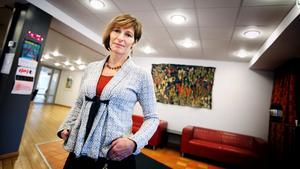 Annika Rådström, resultatområdeschef för barn- och ungdomsenheten i Södertälje kommun.Fotograf: Mattias Holgersson
