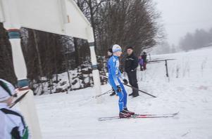 Jonas Åsander Grahn, Hudiksvalls IF, vann herrarnas 15-kilometerslopp.