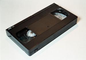 Videoband, videokassett VHS. Foto Leif Blom/Scanpix