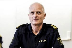 Mats Lagerblad - chef för lokalpolisområdet Ludvika, Borlänge, Gagnef, Säter och Smedjebacken.