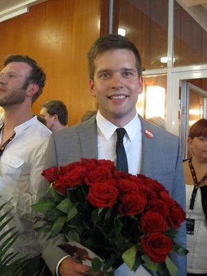Gabriel Wikström, SSU-orförande från Västerås.