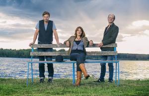 Anders Nygårds på fiol, sångerskan Sofia Sandén och gitarristen Ian Carr är aktuella med albumet Natt blir dag.