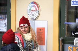 Hanna Elffors Elfström spelar den blasé storasystern Anna i Sunefilmerna.