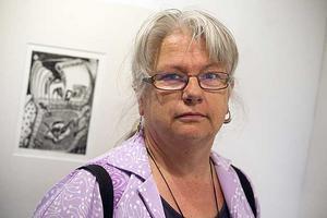 Annette Segerberg gör gärna Gävlemotiv.