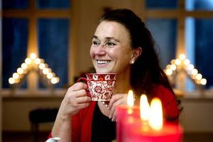 Åsa Näsman arbetar som hem- och konsumentsskapslärare men är också konstnär.