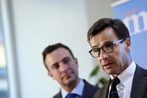 Tomas Tobé och  Ulf Kristersson (bilden är från 2016).
