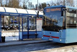 Slutstation. Om förslaget går igenom kommer 303:an till Kopparberg att från i höst utgå från Lindesbergs station och inte från Örebro.