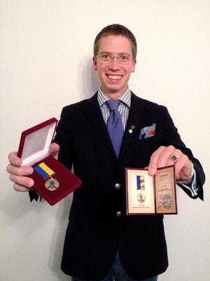 Medaljen från Yarmolintsy är inte den första.