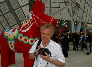 Anders Hanser ligger bakom filmen Staffans fålar. Foto:AndersHanser
