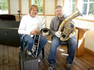 Per Nestor och Bo Kärvinge. Bild: Inga-Lill Holm.