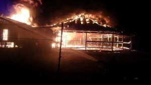 Branden i dansbanan i Venjan utanför Mora.