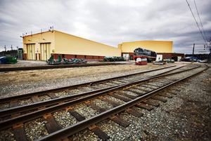 Här på lokverkstaden på Finnslätten skulle en stor del av jobbet ha gjorts om Bombardier fått beställningen.