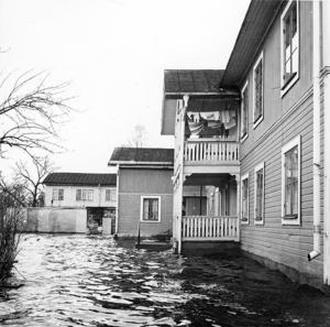 Husen i kvarteret Ankan vid sjön översvämmades och vattenskadades. De revs året därpå.
