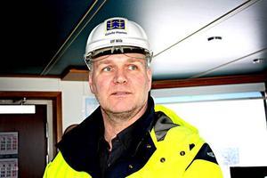 –England är den största marknaden för sågade trävaror och en reguljär linje betyder mycket för sågverken i både Dalarna och Gävleborg, säger Ulf Wiik, försäljningschef på Stuveribolaget Gävle.