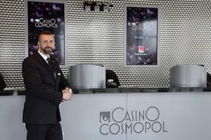Håkan Lehnberg, säkerhetschef på Casino Cosmopol i Sundsvall, ser ingen större förändring på antalet besökare som väljer att porta sig själva från kasinot.