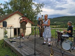 HUSK bjöd på musikhistorisk buffé under söndagens konsert. Foto: Maria Dahlström