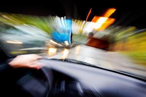 Två gånger samma dag stoppade polispatrullen samma drogpåverkade bilförare. Foto: Gorm Kallestad / Scanpix