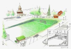 Åre kommuns planprogramsförslag följer till stor del Johan Forsgren och andra Åreföräldrars förslag tidigare  i höstas. Foto: Johan Forsgren