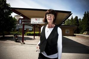 Ann-Margret Josefsson, vårdenhetschef vid primärvården i Ljusdal.