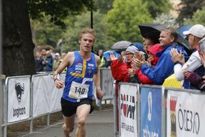 Isac von Krusentierna, OK Kåre, vann sprint-SM i orientering.