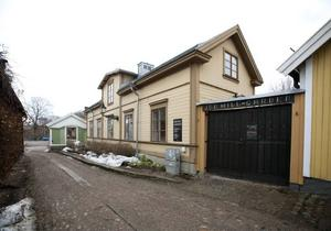 Joe Hillgården i Gamla Gefle.  Arkivbild.