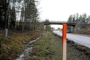 Mätningar inför bygget av nya Trafikplats Tuna.