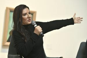 Marina Abramović är aktuell i vår med en retrospektiv på Moderna museet i Stockholm.