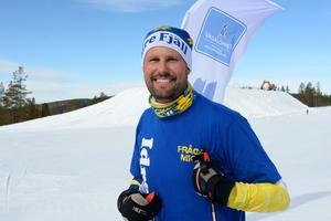 John Lundmark VD på snösäkra Idre Fjäll.