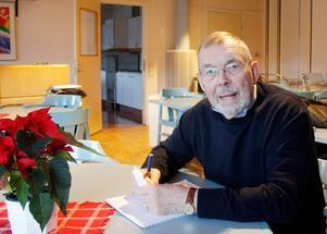 Anders Lagerqvist, ordförande för Tynderö bygdegårdsförening.