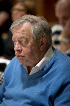 Kenneth Westberg under ett möte i Timrå kommunfullmäktige.